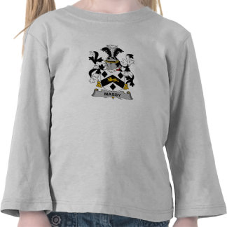 Massy Family Crest T Shirts