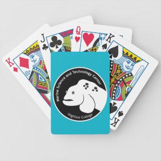 MaST Center Aqua Playing Cards