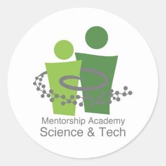 MAST logo Classic Round Sticker