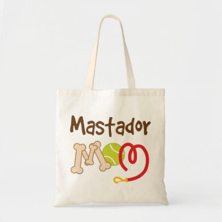 Mastador Dog Breed Mom Gift Tote Bag