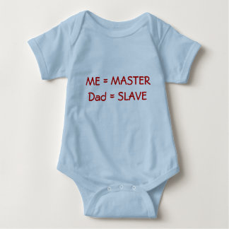 Master and Slave Baby Bodysuit