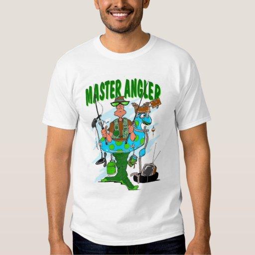 master angler t shirt zazzle. Black Bedroom Furniture Sets. Home Design Ideas