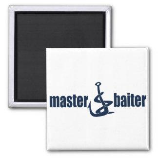 Master Baiter 2 Inch Square Magnet