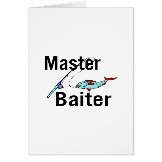 Master Baiter Card