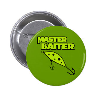 Master Baiter Fishes By Himself Button