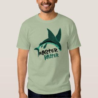 master-baiter fishing  funny tshirt design