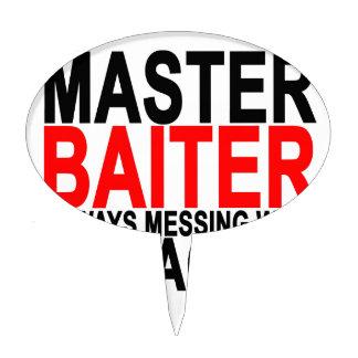 Master Baiter - Funny Fishing.png Cake Topper
