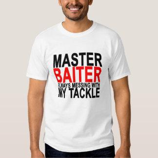 Master Baiter - Funny Fishing.png T Shirt