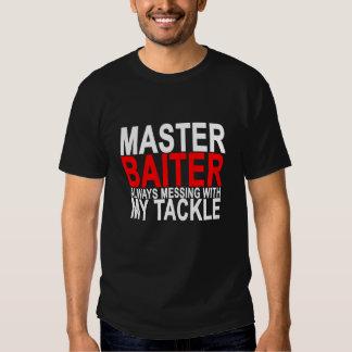 Master Baiter - Funny Fishing.png Tee Shirt