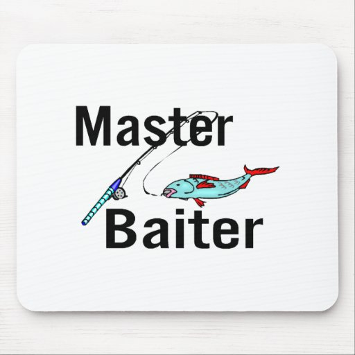 Master Baiter Mouse Pad