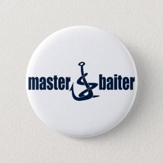 Master Baiter Pinback Button