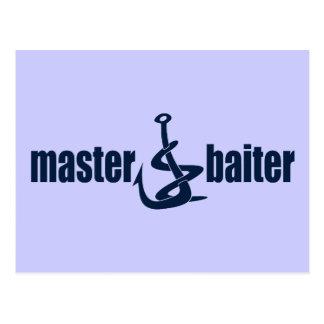 Master Baiter Post Card