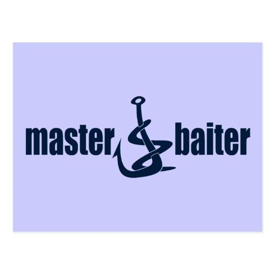 Master Baiter Postcard