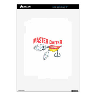 MASTER BAITER DECALS FOR iPad 2