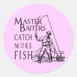 MASTER BAITERS CATCH MORE FISH STICKER