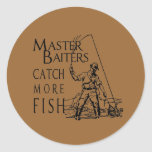 MASTER BAITERS CATCH MORE FISH STICKERS