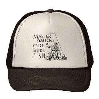 MASTER BAITERS CATCH MORE FISH T-shirt Trucker Hat