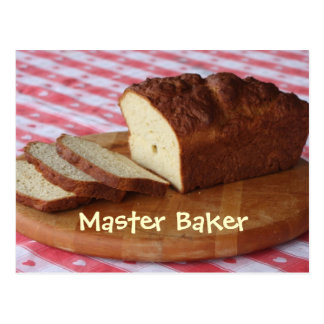 Master Baker Postcard