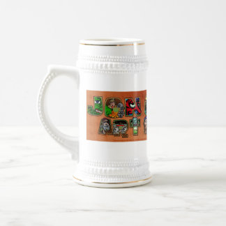 Master Banner-B - Customized Beer Stein