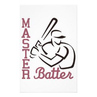 Master Batter Stationery