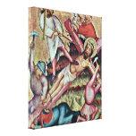 Master Bertram - Kreuzannagelung Stretched Canvas Print