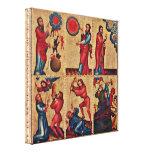 Master Bertram - Petri Grabower altar Canvas Prints