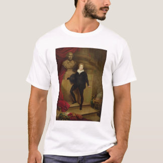 Master Betty as Hamlet before a bust of Shakespear T-Shirt
