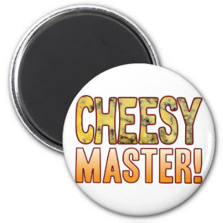 Master Blue Cheesy 2 Inch Round Magnet