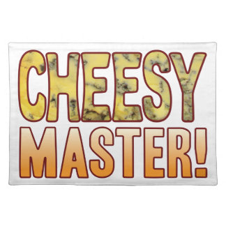 Master Blue Cheesy Cloth Placemat
