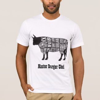 Master Burger Chef T-shirt