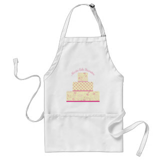 master cake decorator adult apron