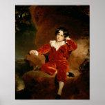 Master Charles William Lambton, 1825 Posters