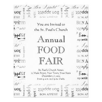 Master Chef Bon Appetit Food Lover Flyer