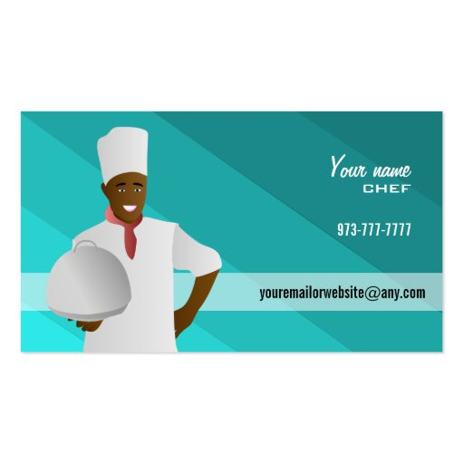 Master Chef Business Cards