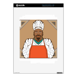 Master Chef Decal For The iPad 2