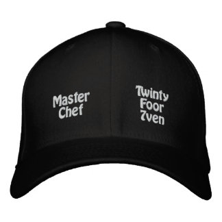 Master Chef Embroidered Baseball Cap