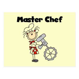 Master Chef - Female Postcard
