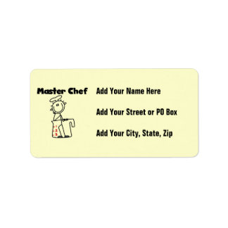 Master Chef Label