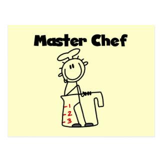 Master Chef Postcard