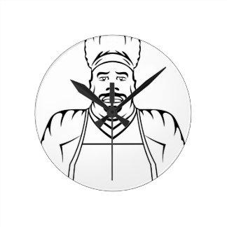 Master Chef Round Clock