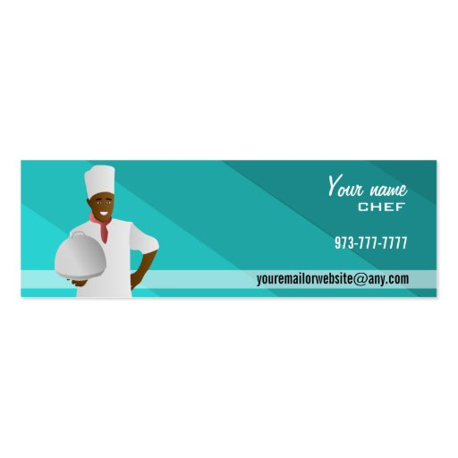 Master Chef Skinny Business Cards