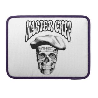 Master Chef Skull v5 Sleeves For MacBook Pro