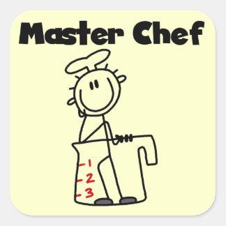 Master Chef Square Sticker