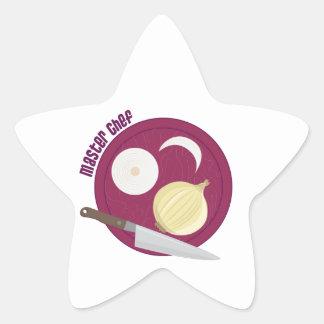 Master Chef Star Sticker