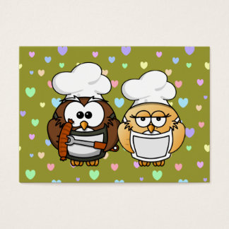 master chefs owl business card