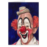 Master Clown Lou Jacobs Greeting Card