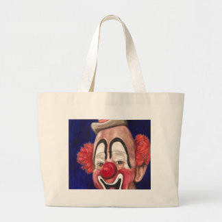 Master Clown Lou Jacobs Large Tote Bag