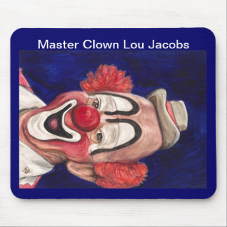 Master Clown Lou Jacobs Mousepad