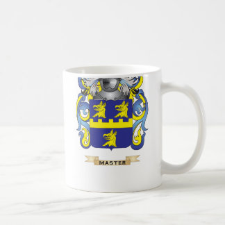 Master Coat of Arms (Family Crest) Classic White Coffee Mug