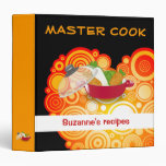 MASTER COOK - binder with your name